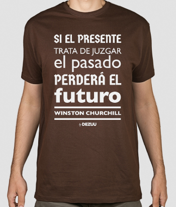 Camiseta frases célebres Churchill