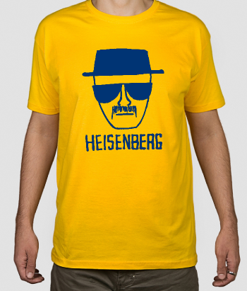 T-shirt Breaking Bad tekening Heisenberg