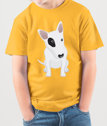 T-shirt divertente Bull terrier