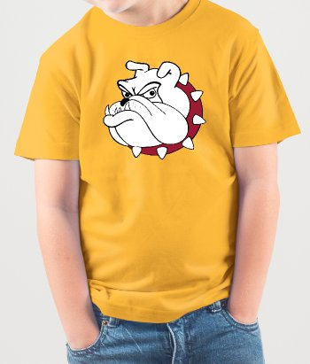T-Shirt Comic Bulldogge