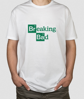 T-shirt TV logo Breaking Bad