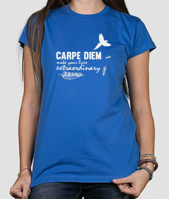 Carpe Diem Flying Bird T-Shirt
