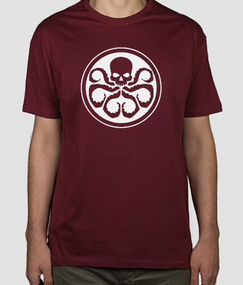 T-shirt geek Hydra Shield