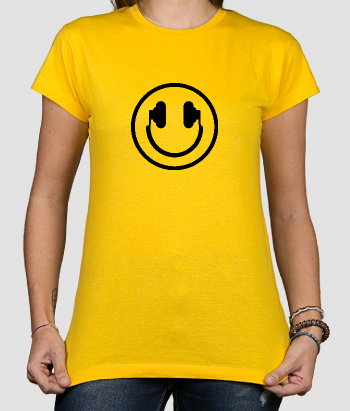 Happy Face Headphones Shirt