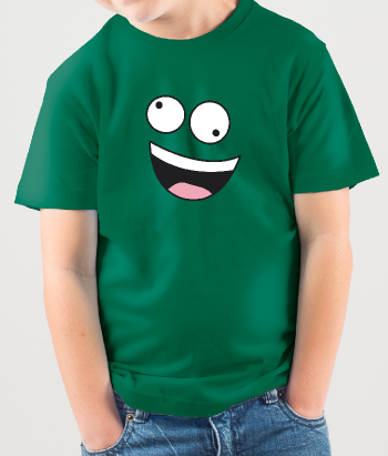 Crazy Face Kid's T-Shirt