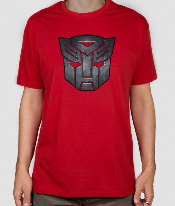Camisola geek logotipo Transformers