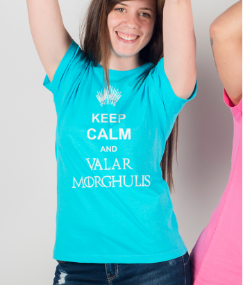 T-shirt Keep Calm Valar Morghulis