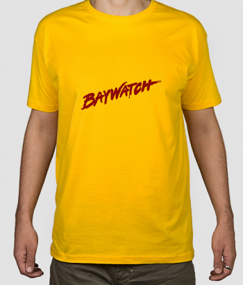 T-shirt logo Baywatch
