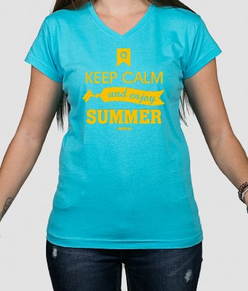 Camiseta Keep Calm Summer