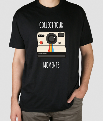 T-shirt collect your moments