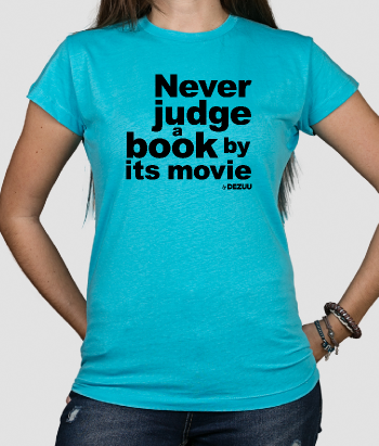 T-shirt never judge a book