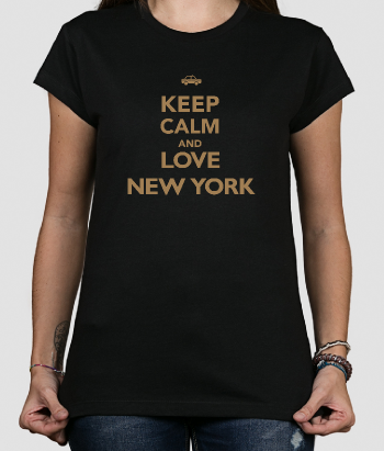 T-shirt keep calm love new york