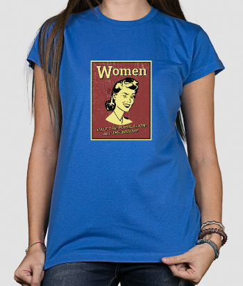 Retro Women Have All the Brains T-Shirt
