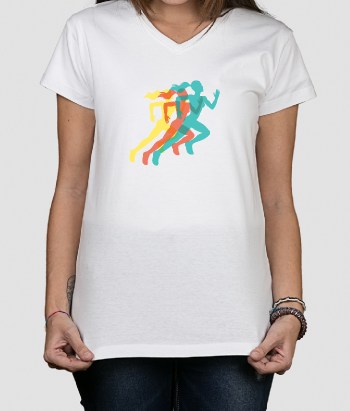 Women Running Sports T-Shirt
