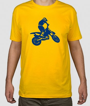 Camiseta de motos motocross