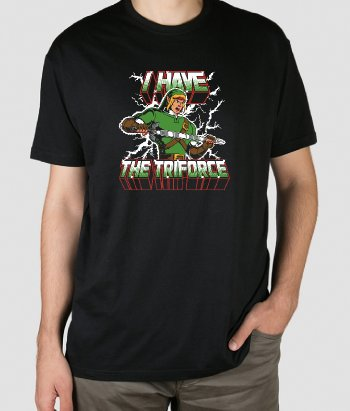 Camiseta I Have the Triforce