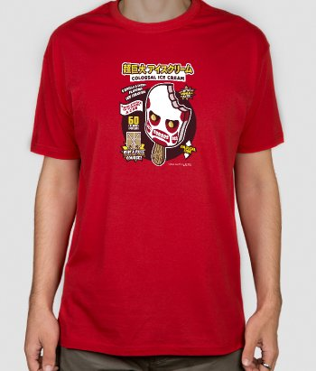 Camiseta Colossal Ice Cream