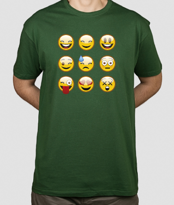 Camiseta emoticones Whatsapp