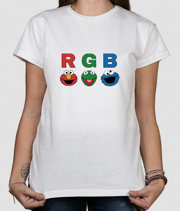Camiseta divertida Barrio RGB