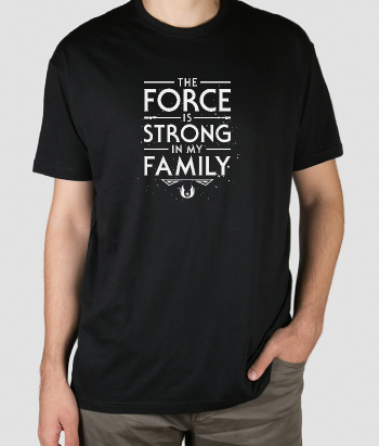 Camiseta The Force of the Family