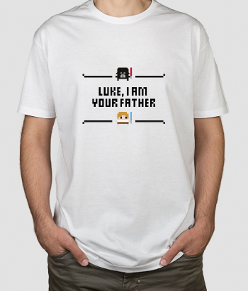 T-shirt Luke your father