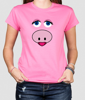 Camiseta original cara Peggy