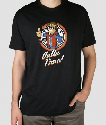 Camiseta Outta Time