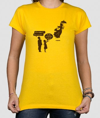 Camiseta Mary Poppins bragas