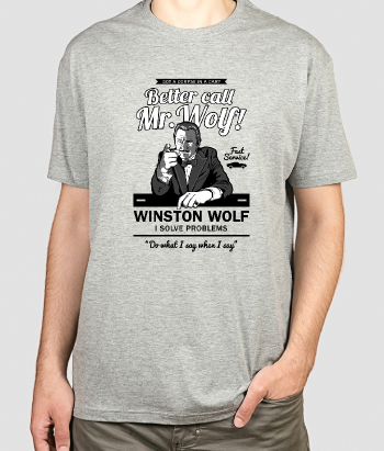 Camiseta Better Call Mr. Wolf