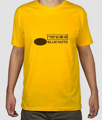 Camiseta jazz logo Blue Note