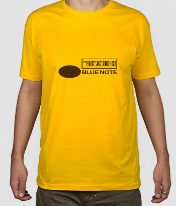 T-shirt jazz logo Blue Note