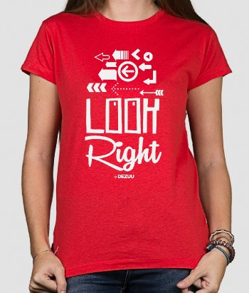 T-shirt look right
