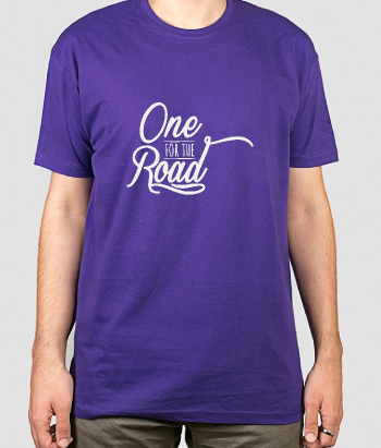 T-shirt música One for the road