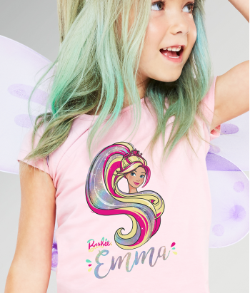 Camiseta Barbie girl personalizable