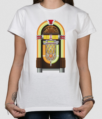 T-shirt retro jukebox