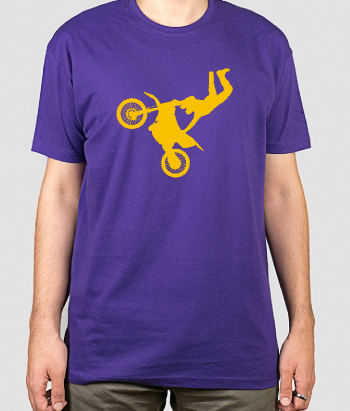 T-shirt moto freestyle