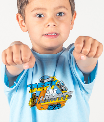 Camiseta Hot Wheels defy the limit