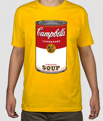 T-Shirt Suppe Campbell Warhol