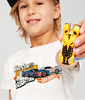 Camiseta Hot Wheels personalizada fórmula 1