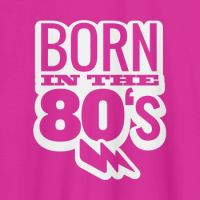 Camiseta original Born in the 80s