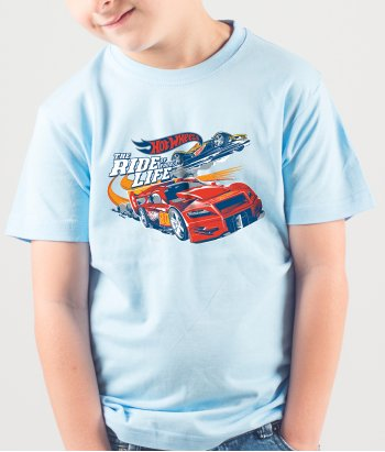 Camiseta Hot Wheels ride of your life