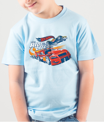 "Camisola Hot Wheels ""The ride of your life"""