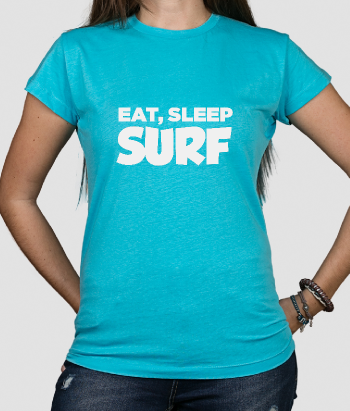 camisola Eat Sleep Surf