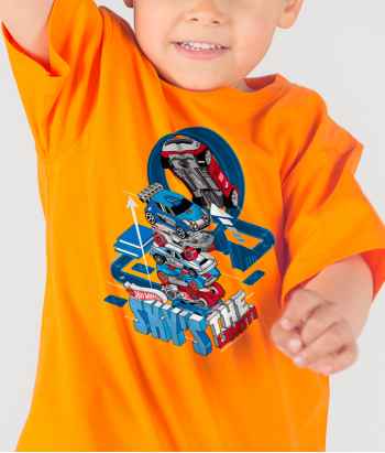 Camiseta HotWheels sky is the limit