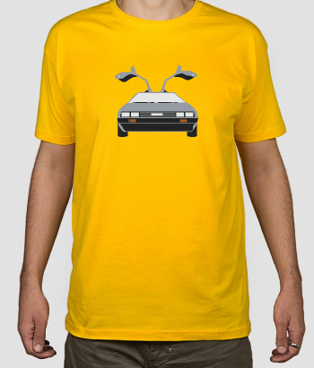 T shirt cinema Delorean