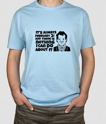 Groundhog Day Film T-Shirt