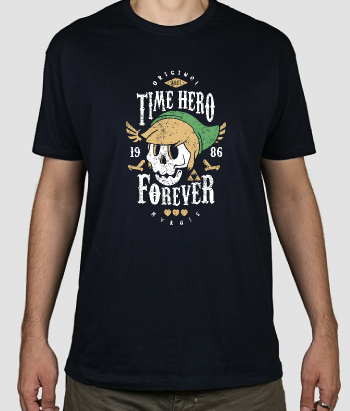 Camiseta Time Hero Forever