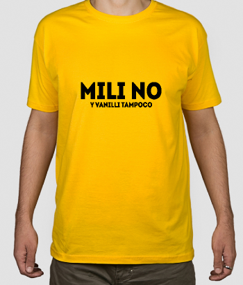 Camiseta divertida Mili no