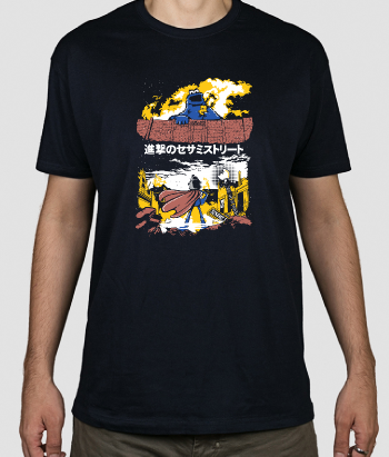 Camiseta Attack on Sesame Street