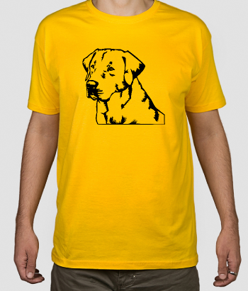 T-shirt cane Labrador retriever